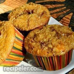 White Chocolate Cranberry Pumpkin Muffins