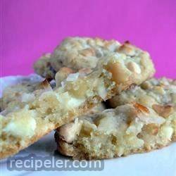 White Chocolate Macadamia Nut Cookies V