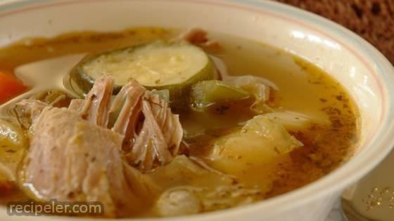 White Wine Chicken Soup