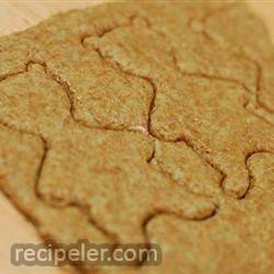 whole wheat cut out cookies