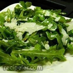 Wild Rocket (Arugula) and Parmesan Salad