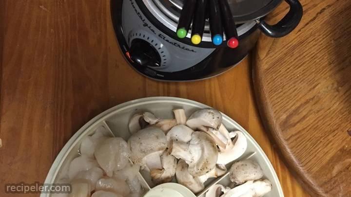 wine fondue