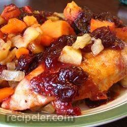 winter chicken bake