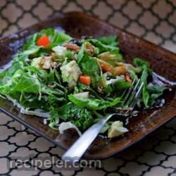 winter green salad