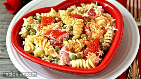 Zesty Cold Chicken Pasta Salad