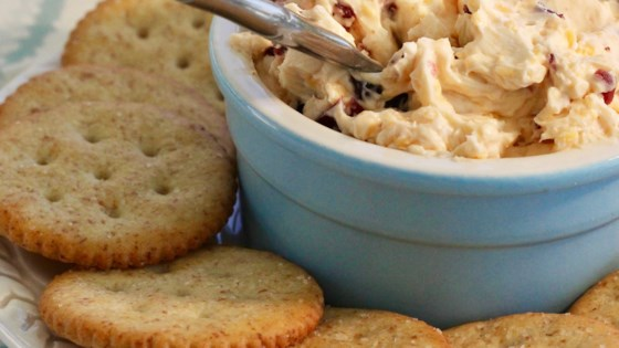 zippy cranberry cheddar spread