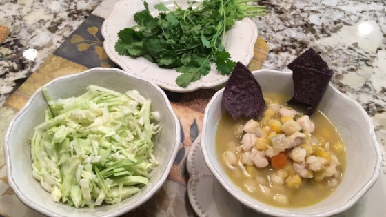 zippy posole (pozole) soup