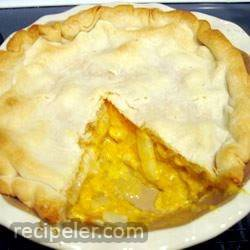 ZiZi's Simple Cheese Onion Pie