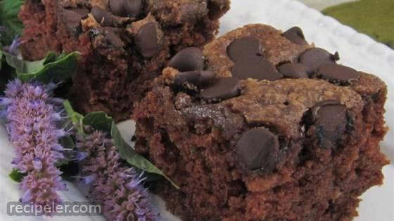 Zucchini Chocolate Chip Cake