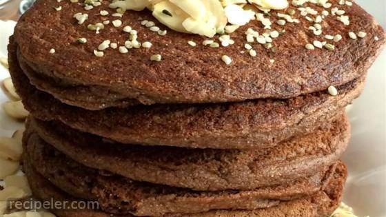 Zucchini Cocoa Pancakes