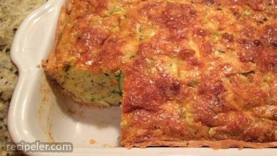 Zucchini Cornbread Pie