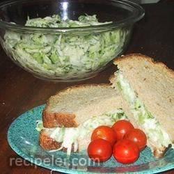 Zucchini Cucumber Salad