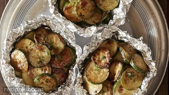 Zucchini Foil Packets