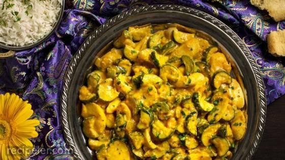 Zucchini & Parsnip Moghlai
