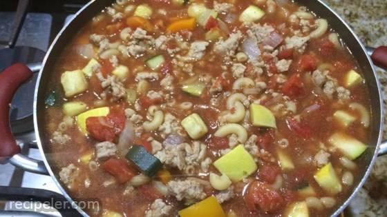 Zucchini Tomato Soup