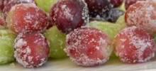 """spa""ctacular frozen grapes"