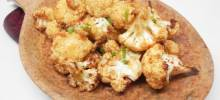 air fryer roasted cauliflower
