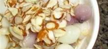 Almond Glazed Onions