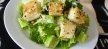 Almost Authentic Caesar Salad