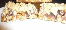 Apricot-Date Bars