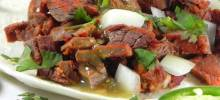 Arrachera (Skirt Steak Taco Filling)