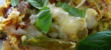 Asparagus, Potato, and Onion Frittata
