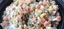 Authentic Russian Salad 'Olivye'
