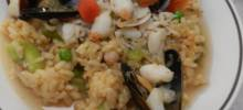 authentic seafood paella