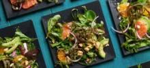 avocado-citrus salad with swiss chard