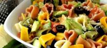 Avocado Cucumber Pasta Salad