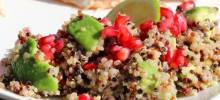 Avocado, Pomegranate, and Quinoa Salad