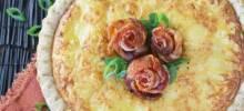 Bacon Rose Quiche