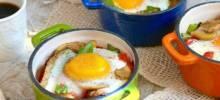 Baked Mushroom & Chicken Sausage Bowls