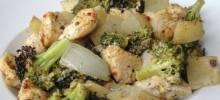 Baked talian Chicken Dinner