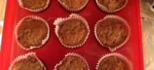 Banana Cranberry Nut Muffins