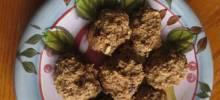 banana oat and bran cookies
