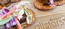 barbecue and coleslaw pretzel crisps® bites