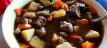 Big Papa's Homemade Beef Stew