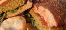 Black Bean and Soy Veggie Burgers