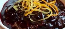 black cumberland sauce