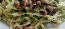 Black-Eyed Pea Cabbage Salad