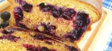blueberry anadama bread