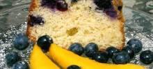 blueberry cream cheese pound cake