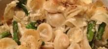 Brie and Asparagus Pasta Casserole
