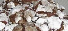 brown sugar chocolate crackle cookies
