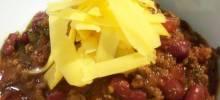 bry's chocolate lamb chili