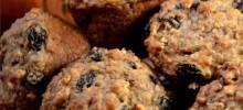 caramelized oatmeal raisin muffins