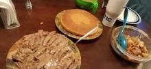 cast ron corn bread