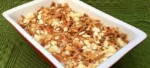 cauliflower crumble