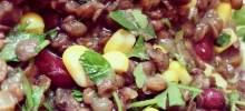 Cheap and Easy Lentil Salad